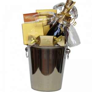 Champagne Toast Gift Basket
