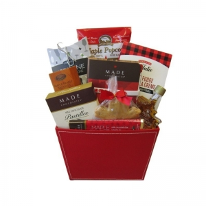 Proud to be Canadian Gift Basket