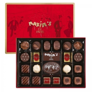 Assorted Chocolate Tin 22PC by Maxim's