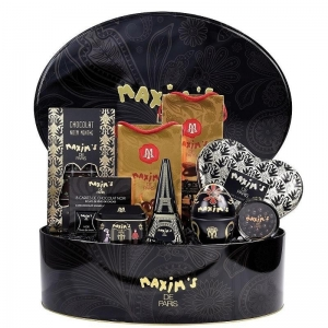Intensely Chocolate Hat Box by Maxim's