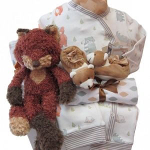Foxy Buddy Gift Set by Bunnies by the Bay